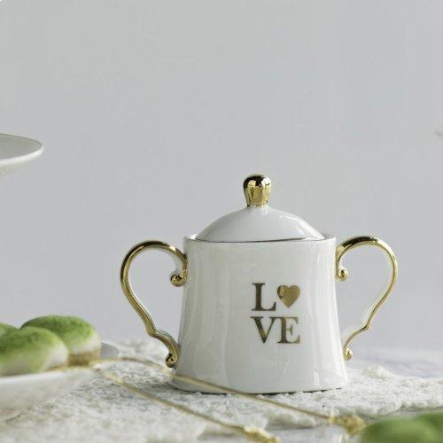 S/2 Creamer and Sugar Bowl