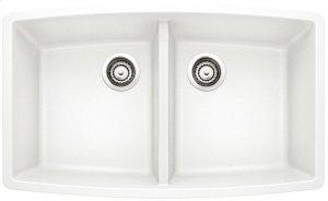 Blanco Performa Equal Double Bowl - White