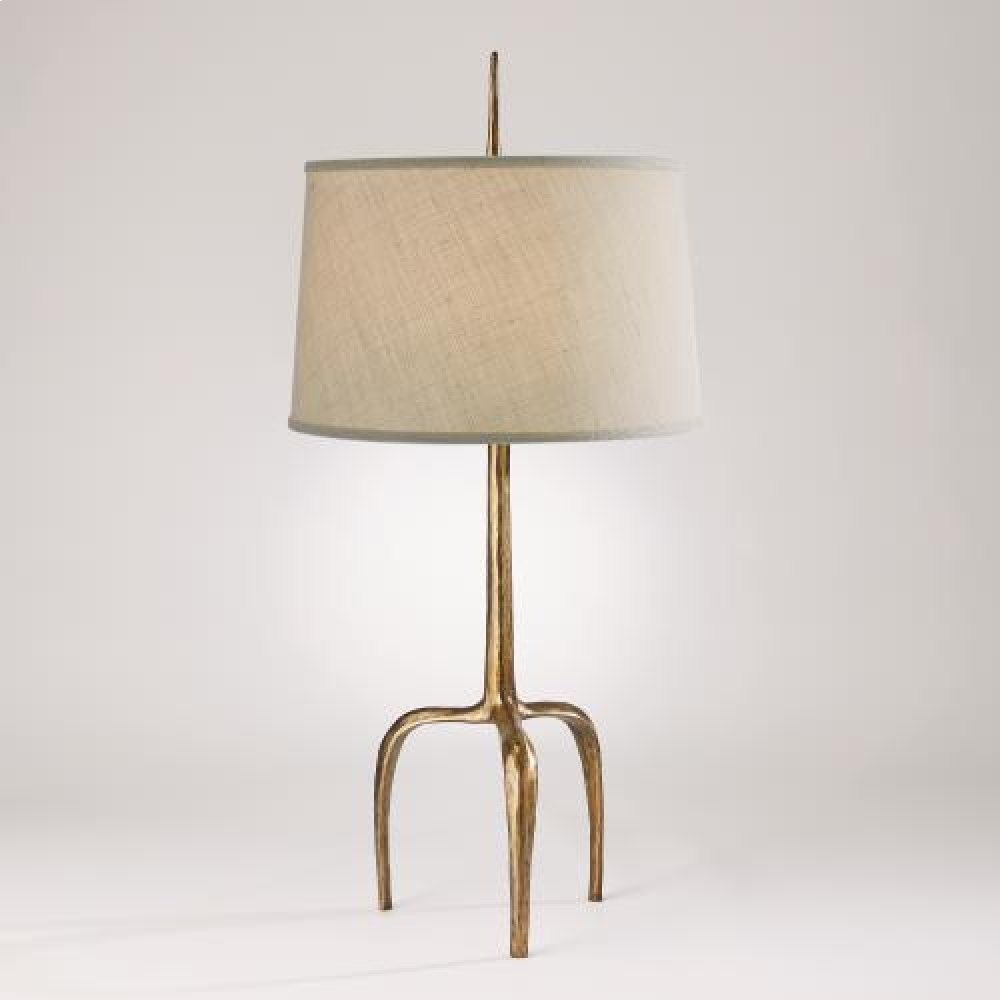 Riley Table Lamp-Gold Leaf