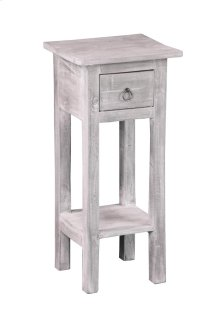 CC-TAB1792LD-SW  Cottage Accent Table  Distressed Light Gray