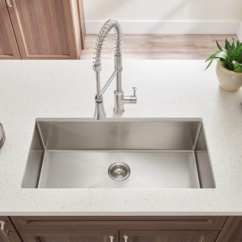 Charmant Pekoe Extra Deep Undermount 23x18 Single Bowl Kitchen Sink American  Standard   Stainless Steel