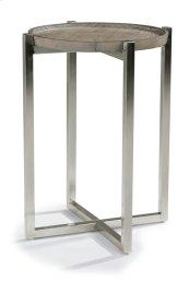 Platform Chairside Table