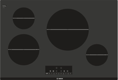 "Serie  6 30"" Induction Cooktop 800 Series - Black"