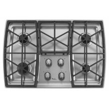 "Whirlpool® 30"" Gas Cooktop"