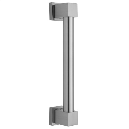"Satin Nickel - 24"" CUBIX® Straight Grab Bar"