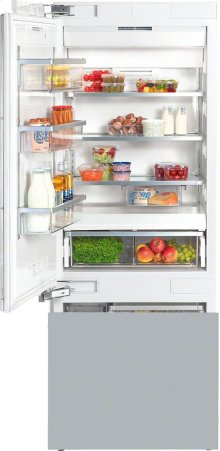 KF 1813 Vi MasterCool fridge-freezer with high-quality features and large storage space for exacting demands.