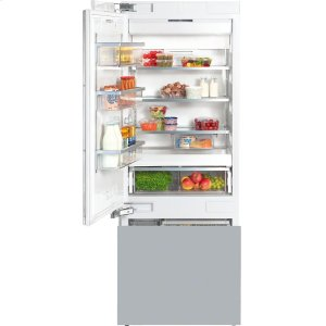 MieleKF 1813 Vi MasterCool fridge-freezer with high-quality features and large storage space for exacting demands.