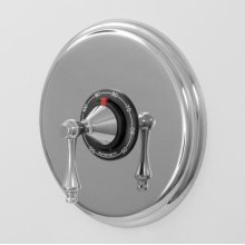 """3/4"""" Thermostatic Shower Set with Lexington Handle and Deluxe Plate (available as trim only P/N: 1.000397DT)"""