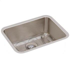 "Elkay Lustertone Classic Stainless Steel 23-1/2"" x 18-1/4"" x 10"", Single Bowl Undermount Sink Kit"