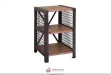 Chair Side Table with 2 open compartments