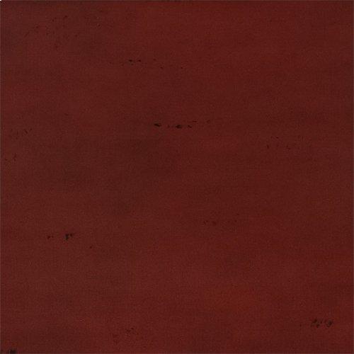 King Metal Headboard - Red