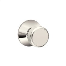 Bowery Knob Hall & Closet Lock - Polished Nickel
