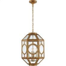 Visual Comfort NW5100GI Niermann Weeks Chatsworth 6 Light 16 inch Gilded Iron Foyer Lantern Ceiling Light, Niermann Weeks, Lantern