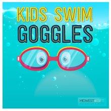 Kids's Swim Goggles Sign.