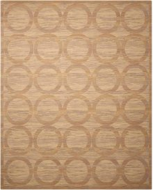 Silken Allure Slk21 Sand Rectangle Rug 7'9'' X 9'9''