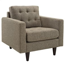 Empress Upholstered Armchair in Oatmeal Product Image
