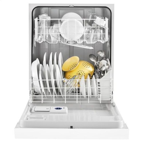 Whirlpool® Heavy-Duty Dishwasher with 1-Hour Wash Cycle - White