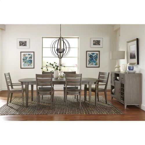 Vogue - Arm Chair - Gray Wash Finish