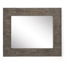 Rustic Black Olive Finish Caminito Rectangular Mirror