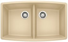 Blanco Performa Equal Double Bowl - Biscotti