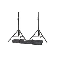 2 Tripod Speaker STANDS With Carry Bag