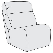 Derek Armless Chair