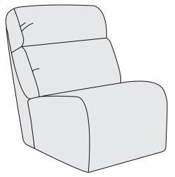 Derek Armless Chair