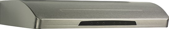 Stainless Steel Range Hood, External Blower Version