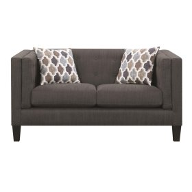 Sawyer Modern Dusty Blue Loveseat