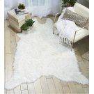 Fur Fl100 White 5' X 7' Throw Blanket Product Image