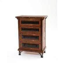 Red River - Tombstone 4 Drawer Dresser