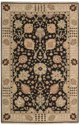 Nourmak S169 Black Rectangle Rug 12' X 15'