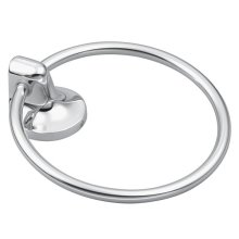 Aspen chrome towel ring