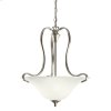Wedgeport Collection Inverted Pendant 2Lt Fluorescent NI