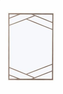 Cityscapes Bruant Metal Mirror