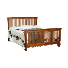 Bungalow Spindle Bed - Queen