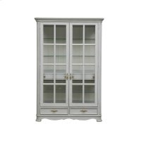 Simply Charming Painted Display Cabinet Product Image