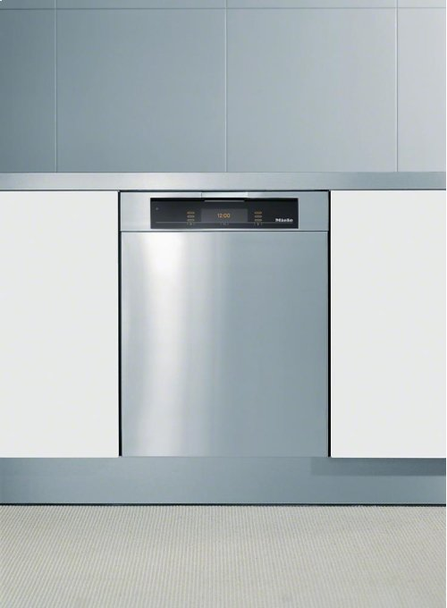 GFV 60/65-1 Int. front panel: W x H, 24 x 25 in with Clean Touch Steel finish for integrated dishwashers.