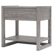 Callisto Night Stand/Side Table, Weathered Gray Product Image