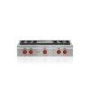 "Wolf 36"" Sealed Burner Rangetop - 4 Burners And Infrared Griddle"