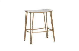 "Pierce 24.5"" Counter Stool - Gold"