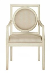 Salon Arm Chair in Salon Alabaster (341) Product Image