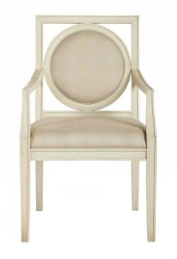 Salon Arm Chair in Salon Alabaster (341)