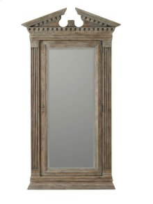 Rhapsody Floor Mirror w/Jewelry Armoire Storage