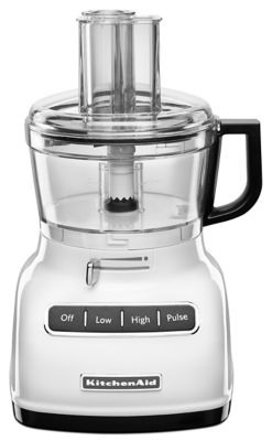 7-Cup Food Processor with ExactSlice System - White