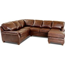Comfort Design Living Room Loft Sectional CL4032 SECT