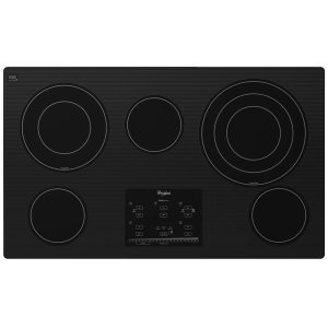 Gold(R) 36-inch Electric Ceramic Glass Cooktop with Tap Touch Controls - BLACK