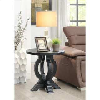 Round Accent Table