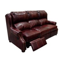 England Lucia all Leather Double Reclining Sofa 3A01AL