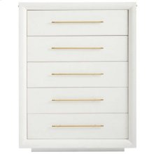 Panavista Panorama Drawer Chest in Alabaster